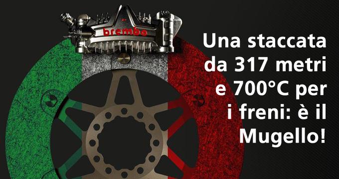 Gli incredibili dati delle frenate del GP Italia e i segreti sul fluido freno Brembo per la MotoGP e la tua moto.