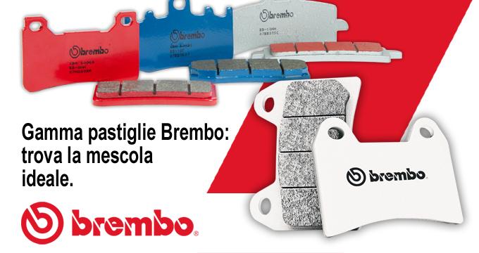 Brembo Pastiglie: una mescola per ogni esigenza!