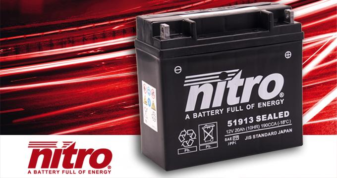 Nitro: la batteria perfetta per la tua moto!