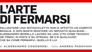 InMoto Men at Work: i segreti dell'impianto frenante con Alessandro Borella, Responsabile Tecnico di Motorquality.