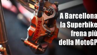 L'importanza della pompa radiale Brembo sul circuito di Catalogna e i vantaggi della 19 RCS Corsa Corta.