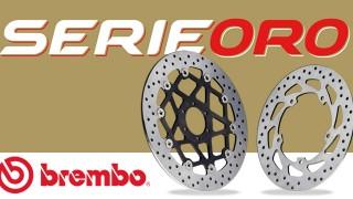 Dischi Serie Oro: la tua moto merita Brembo.